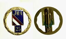 pcc2136_48)  Distintivo / Spilla J. R. 4 metallo dorato e smalti  mm 40