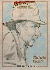 Indiana Jones & The Kingdom Of The Crystal Skull Sketch Card By Juan Ramos