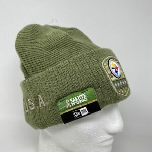 Pittsburgh Steelers Salute to Service Beanie Winter Hat Military NFL Football