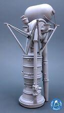 Rocket engine Mercury-Redstone A7 model KIT 1:12
