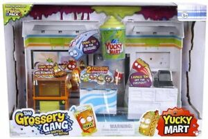 The Grossery Gang Yucky Mart Playset New Toy Play Shop