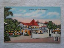 Palm Beach FL Bradley's Beach Club vintage postcard unposted