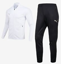 c410c2d38c01 Puma Men Active Fit Training Suit Set White Soccer Jacket Pant Jersey  92708702