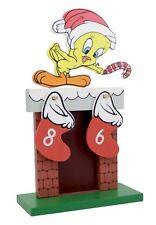 Tweety Looney Tunes Christmas countdown wooden calendar Warner Brothers