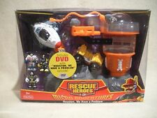 Rescue Heroes Micro Adventures Houston We Have A Problem Playset! FACTORY SEALED