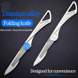 TITANER Multi-Tools Titanium Pry Bar Crowbar EDC Tool Bottle Opener Screwdriver