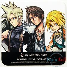 Dissidia Final Fantasy NT Cloud Squall Zidane Coaster Square Enix Cafe VGC