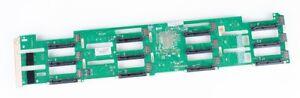 """HP 12x 3.5"""" SAS Festplatten Backplane Board - DL380p / DL380e Gen8 - 647407-001"""