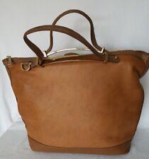 77c4f0937266 New Look Ladies Tan Brown Convertible Crossbody  Grab Bag Large Handbag