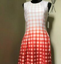 CALVIN KLEIN Multicolor Ck dress size 6 $134+tax