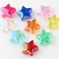 Wholesale Multi-color Star Acrylic Loose Beads DIY Jewelry Making Acces Crafting
