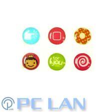 6 PCS Cute Mixed Patterns Home Button Sticker for iPhone 3G/3GS/4/4S + Bonus Set
