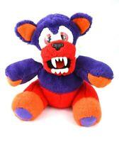 "RARE Tonka Beasty Bear Transforming Plush Stuffed Animal Toy Vintage Monster 9"""