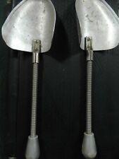 Shoe-horns semi-antique pair 1940-1950s from Africa made in Britain, Dasco, (2).