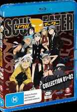 Soul Eater: Collection 1-2 (Blu-ray,2012, 3-Disc Set) *New Sealed* - Region A