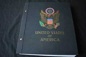 USA 1940s Onwards in Printed Album, 99p Start, All Pictured
