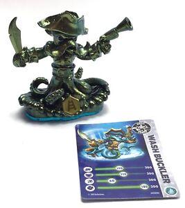 Metallic Wash Buckler Pirate Figure / Skylanders Game / Swap Force Figure w Card
