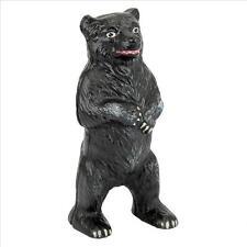 Die Cast Iron Wildlife Standing Black Bear Retro Style Still Action Coin Bank