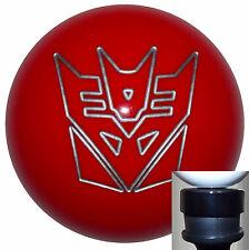 Transformers Decepticon Red shift knob w/ black adapter kit fits new Dodge Dart