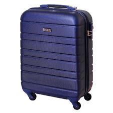 Handgepäck Hartschalen Reise Koffer Trolley Bordgepäck 30 Liter Saphir Blau
