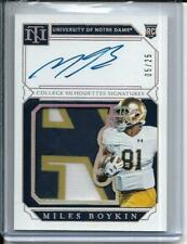 2019 National Treasures Miles Boykin GOLD Auto PATCH RC /25