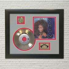 Chaka Khan Framed Picture Sleeve Gold 45 Record Display
