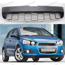New Front Bumper Lower Black Grille Insert For Chevrolet Aveo 2011-2016