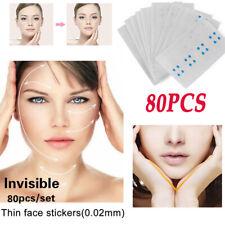 1/80Pcs V Shape Face Lift Up Fast Work Maker Chin Adhesive Tape Face Lift Tool