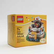 LEGO 40153 Birthday Cake Table Decoration pop up jester 1 to 99 exclusive NIB