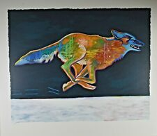 John Nieto - Higher (Coyote) Olympic Games Lithograph