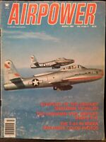 Airpower A Sentry Magazine Aviation Warplanes Military Aircraft March 1984