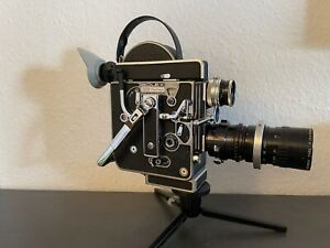 Bolex H16 Reflex Model Rex mit Switar 1.4/25mm + Angenieux Zoom 2.2/17,5-70mm