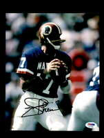 Joe Theismann PSA DNA Coa Hand Signed 8x10 Photo Autograph