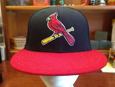 St. Louis Cardinals New Era 59fifty Fitted Hat Size 7 On The Field Cap