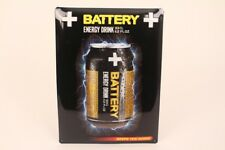 Battery Energy Drink Keeps You Going Tin Sign Advertisement Advertising 30x40