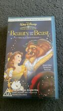 Walt Disney Masterpiece Beauty and the Beast VHS special limited edition