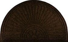 Fußmatte halbrund braun Relief Gallery halfmoon Türmatte außen Schmutzfangmatte
