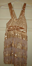 WEISSMAN~girl's~GOLD/JAZZ/FRINGE/BANGLES/DANCE/UNITARD! (XL/C) BRAND/NEW! NICE!