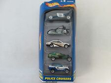 Hot Wheels Gift Pack Police Cruisers 5 Pack
