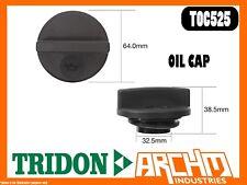 TRIDON TOC525 - OIL CAP - PLASTIC SCREW - COVER ORIFICE ENGINE OIL SUPPLY