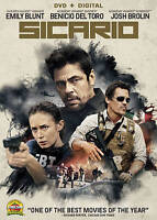 Sicario [DVD]  New, Free Shipping