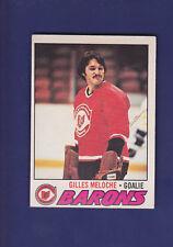 Gilles Meloche 1977-78 O-PEE-CHEE Hockey #109 (EXMT)