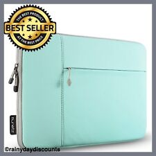 "13.3 Inch Laptop Sleeve Case Soft Neoprene Case For MacBook 13"" Case Cover TEAL"
