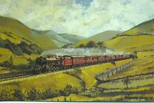 LMS 6203 PRINCESS MARGARET ROSE Mid Summer in The Lune Valley Bernard Jones
