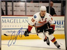 252afe96b0f JAROME IGINLA Signed Autograph Auto 11x14 Photo Picture Calgary Flames JSA