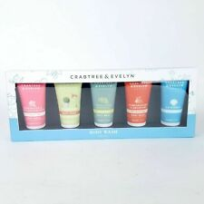 Crabtree & Evelyn Gardeners Pear Pomegranate La Source BodyWash Set 5pc Gift Box