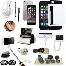 14 PCS Case Bluetooth Headset Monopod Lens Accessory Bundle For iPhone 7 Plus