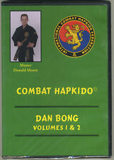 Combat Hapkido Dan Bong Vol. 1-4 (2DVD) - Master Donald Moore - NEW short stick