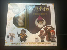 New listing Harry Potter Crochet Kit with instruction booklet and Harry Potter Wand Hook!