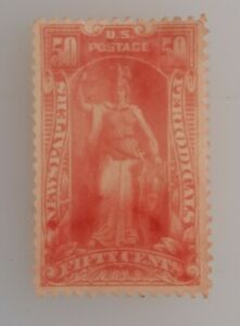 US 50c Newspaper & Periodicals Stamp. Used fair, Previously Hinged #pr119